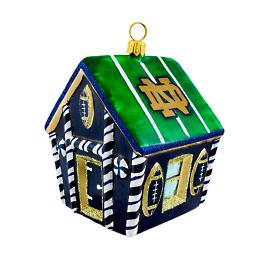 Collegiate Gingerbread House Ornament