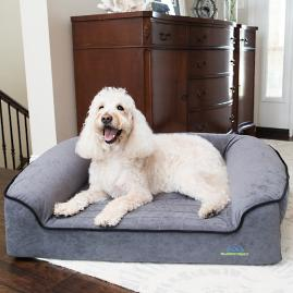 Romeo Orthopedic Bolster Dog Bed