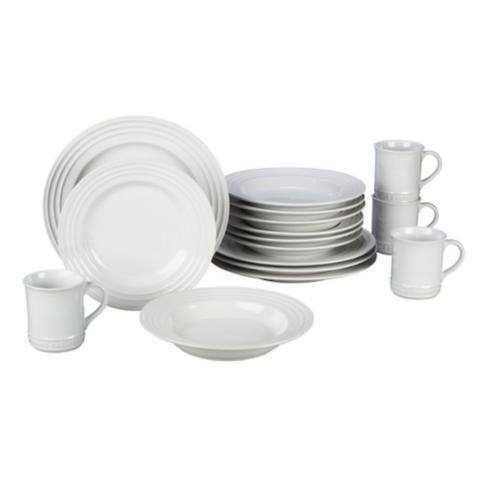 Le Creuset 16-pc. Dinnerware Set  sc 1 st  Frontgate & Le Creuset 16-pc. Dinnerware Set | Frontgate