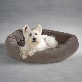 Ashton Donut Super Loft Fiber Pet Bed