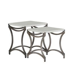 Caroline Iron Nest Tables by Summer Classics, Set