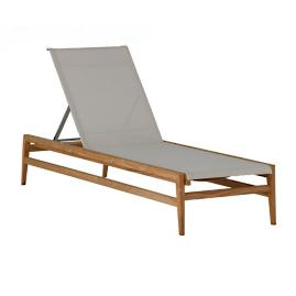 Coast Teak Chaise Lounge By Summer Classics