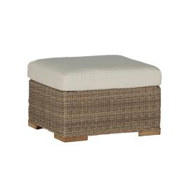 Pacific Ottoman with Cushion by Summer Classics