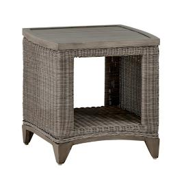 Astoria Wicker End Table by Summer Classics