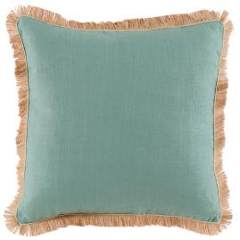 Lorelei Jute Fringe Decorative Pillow