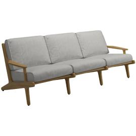 Bay 3-Seater Sofa with Cushions by Gloster