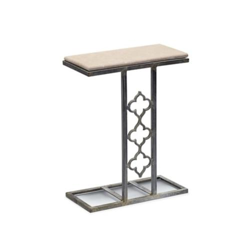 Mia Quatrefoil End Table