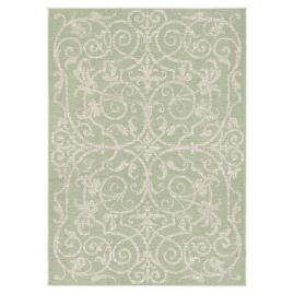 St Lucia Medallion Indoor Outdoor Rug Frontgate