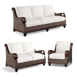St. Martin 3-pc. Sofa Set Cover