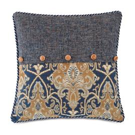 Arthur Ochre Decorative Pillow
