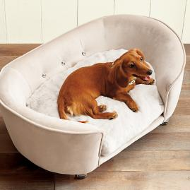 Crystal Snuggle Pet Bed