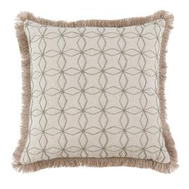 Cari Fringe Decorative Pillow