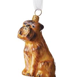 Brussels Griffon Collectible Dog Ornament