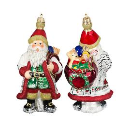 Galician Santa with Presents Ornament