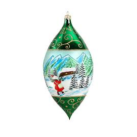Carpathian Mountains Drop Ornament