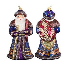 Father Frost Russian Santa Czech Inspired Ornament