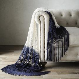 Ombre Crochet Throw