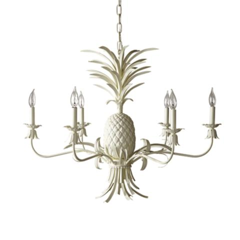 Pineapple chandelier frontgate pineapple chandelier aloadofball Gallery