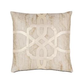 Halo Champagne Key Decorative Pillow by Eastern Accents