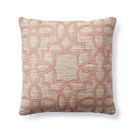 Arabesque Blush Decorative Pillow