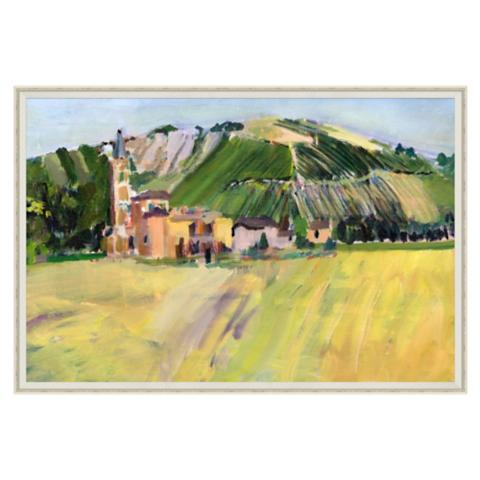 Tuscan Landscape Wall Art | Frontgate