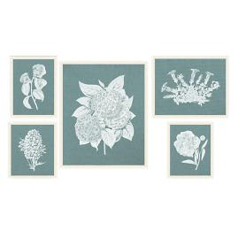 American Garden Blanc Art Collection from the New