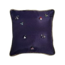 Midnight Gardens Holiday Pillow