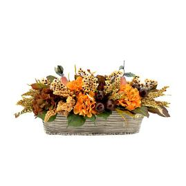 Gathering Floral Basket