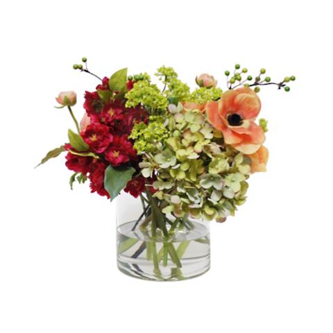Ranunculus and Anemone in Vase