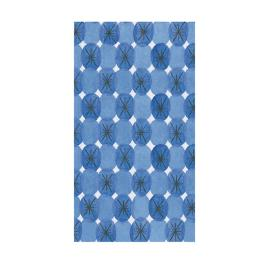 Caspari Le Moderne Blue Guest Towels, Set of