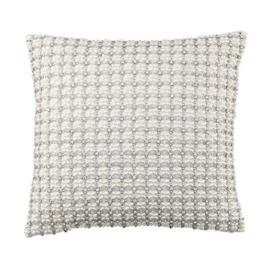 Anna Pillow with Silver Beads