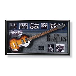 One-of-a-kind Autographed Beatles Guitar