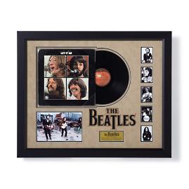 Autographed Beatles Let it Be Album Cover