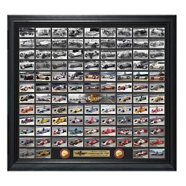 Indianapolis 500 Champions Cars Photo and Coin Collection