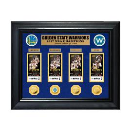 Golden State 2017 NBA Champions Ticket Collection