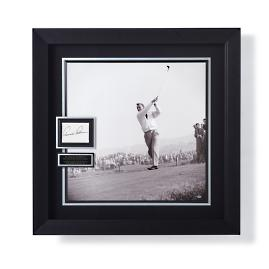 Arnold Palmer Signed Display