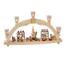 Santa's Workshop Arch Display