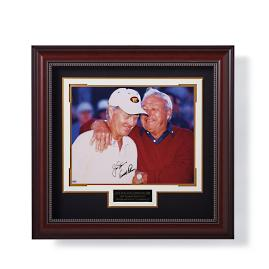 Arnold Palmer and Jack Nicklaus Signed Photo