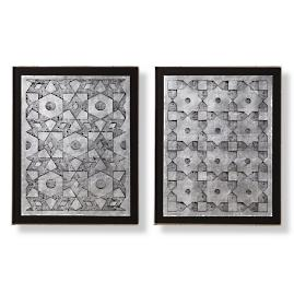 Safi Wall Art, Set of Two by Martyn