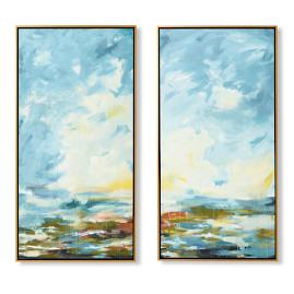 Carmel-by-the-Sea Diptychs, Set of Two