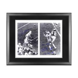 Dallas Cowboys Roger Staubach and Drew Pearson Signed