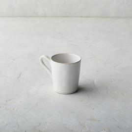 Costa Nova Astoria Mugs in White Finish, Set