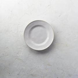 Costa Nova Astoria Salad Plates in White Finish,