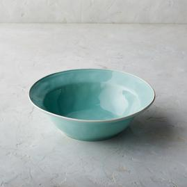 Costa Nova Astoria Serving Bowl in Mint Finish