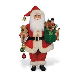 Christmas Delight Santa Figure