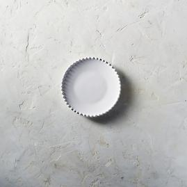 Costa Nova Bread Plates in White, Set of