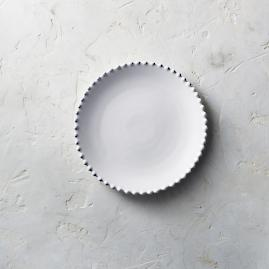 Costa Nova Pearl Salad Plates in White, Set