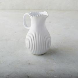 Costa Nova Pearl Pitcher in White