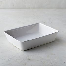 Costa Nova Friso Rectangular Baker in White