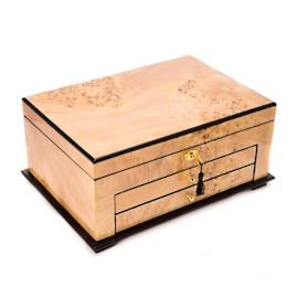 Lacquered Birdseye Maple Jewelry Box